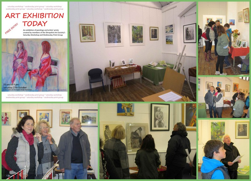 Collage of SAS Saturday Workshops Exhibition 2012