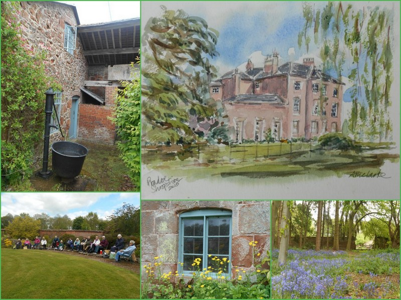 Collage of SAS Sketch Club outing summer 2015