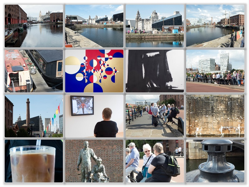 Collage of SAS Gallery Day Trip to Liverpool 2017