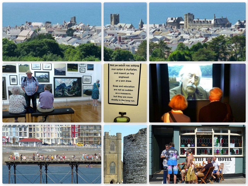 Collage (1 of 2) SAS Gallery Day Trip to Aberystwyth 2018