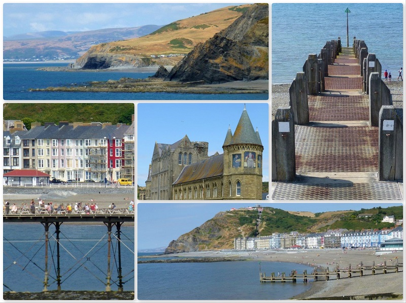 Collage (2 of 2) SAS Gallery Day Trip to Aberystwyth 2018