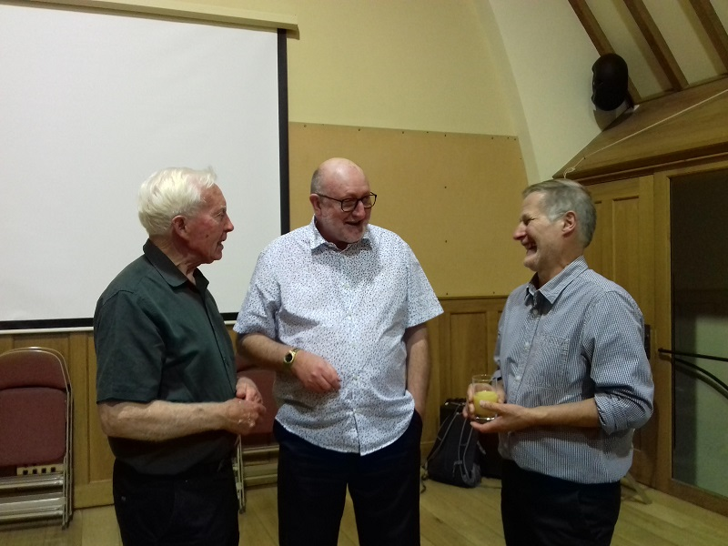Image of Alan, Frank and Ben Osborne at the Summer Social 2018
