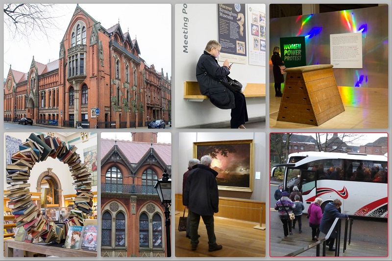 Collage (1 of 2) of SAS Gallery Day Trip to Birmingham 2019