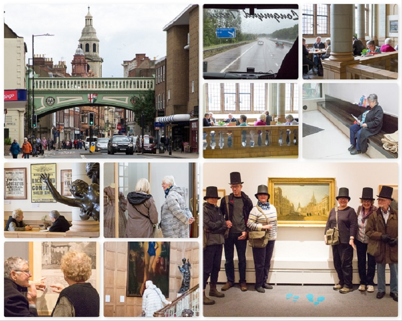 Collage of SAS Gallery Day Trip to Wolverhampton and Worcester 2019