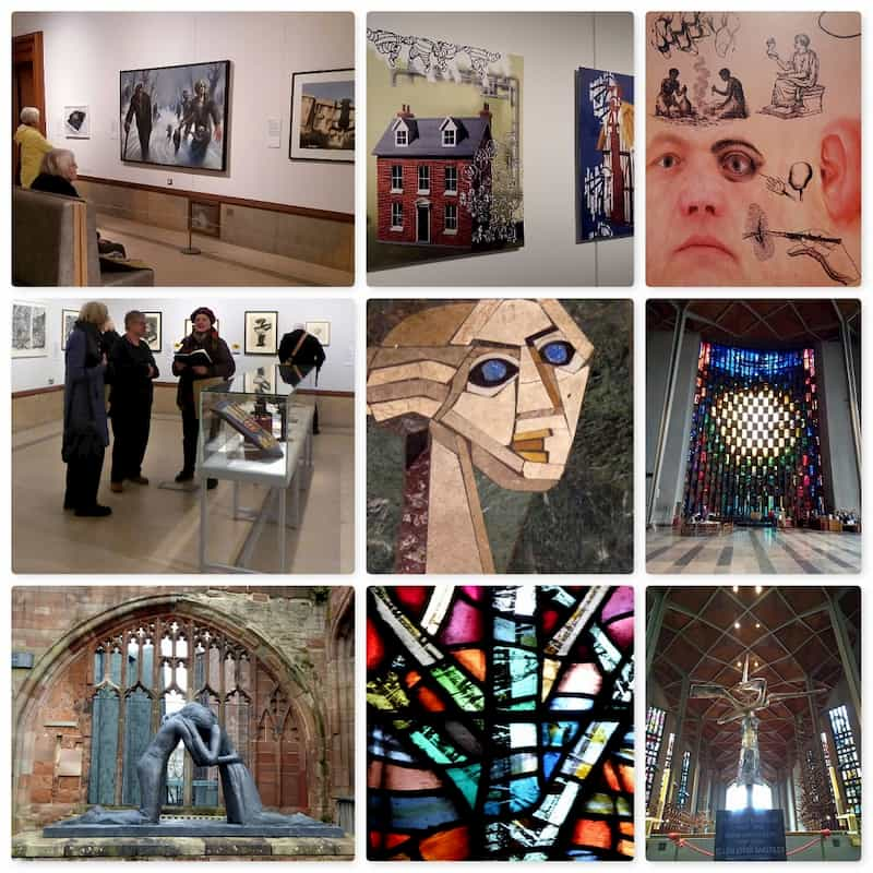 SAS collage of Autumn Gallery day trip to Coventry (1 of 2)