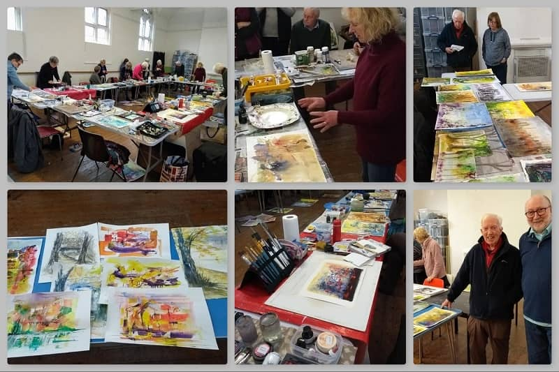 Collage Pip Jones SAS Wednesday classes 2019