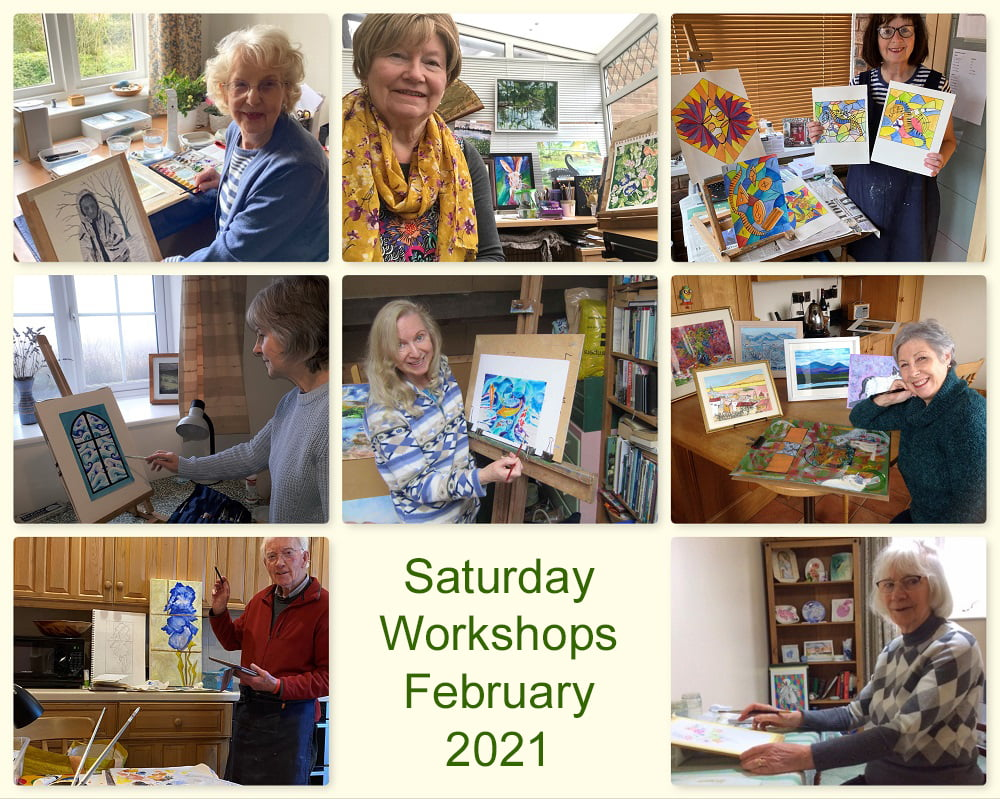 SAS Saturday Workshops 2021, in our home studios
